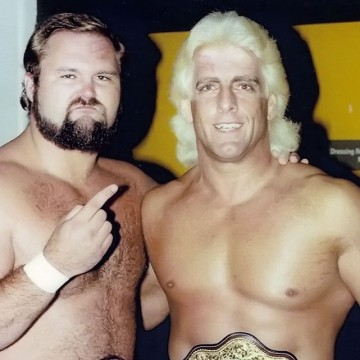 Arn Anderson and Ric Flair - mikemooneyham.com