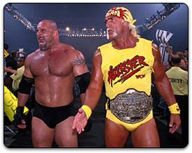 Bill Goldberg and Hulk Hogan