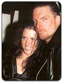 Stephanie McMahon and HHH