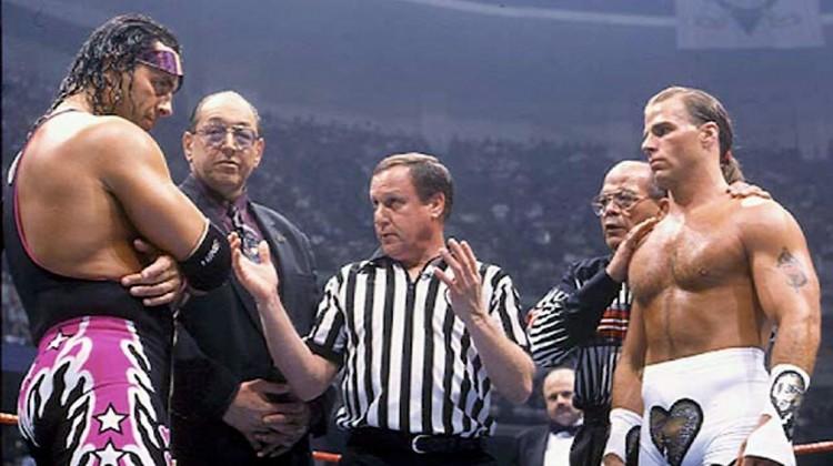 Bret Hart - Shawn Michaels - mikemooneyham.com