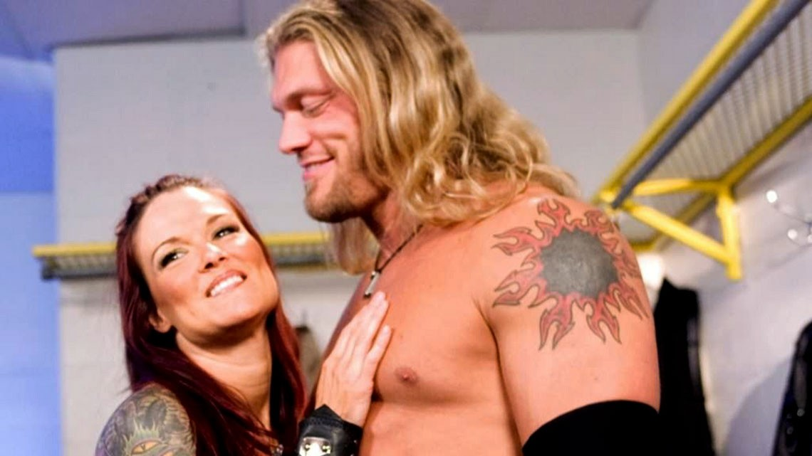 Lita and Edge - mikemooneyham.com